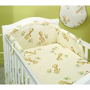 BlueberryShop 2 pcs BABY COT BED BUNDLE BEDDING SET DUVET+PILLOW COVERS matching cot bed 120 x 150...