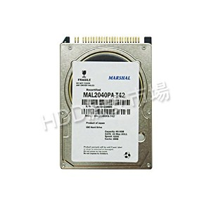 MAL2040PA-T42 (40gb 4200RPM ATA) MARSHAL2.5HDD