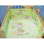 "BlueberryShop 2 pcs BABY COT BED BUNDLE BEDDING SET DUVET+PILLOW COVERS 90 x 120 cm (35.5"" x 47"") (..."