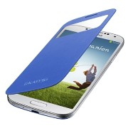 SAMSUNG GALAXY S4 SC-04E用 純正ケース S View Cover ケース ライトブルー EF-CI950KCEGN