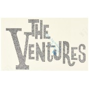 The Ventures ロゴ デカール 大 黒