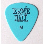 アーニーボール ピック Cellulose Acetate Nitrate Pick (Medium(0.72mm), Blue)