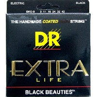 DR BLACK BEAUTIES DR-BKE9 Lite エレキギター弦×3セット