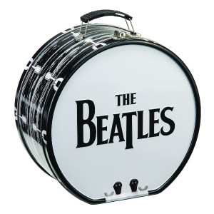 Lunch Box - The Beatles - Drum Shaped Tin Metal Tote New Licensed 72170