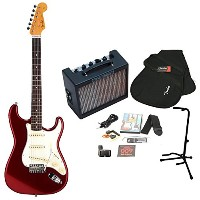Fender / Japan Exclusive Classic 60s Stratocaster Old Candy Apple Red + MD-20 MINI DELUXEアンプ17点セット