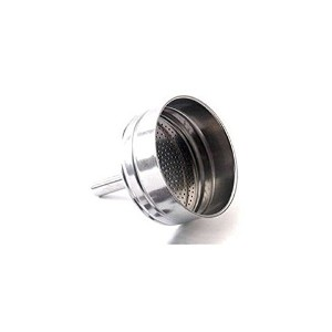 Bialetti - Spare Funnel - Replacement Part Suitable for Bialetti Stainless Steel Espresso Makers -...