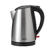 Aroma Housewares AWK-1400SB 7 Cup Stainless Steel Electric Kettle, 1.7 L, Silver [並行輸入品]