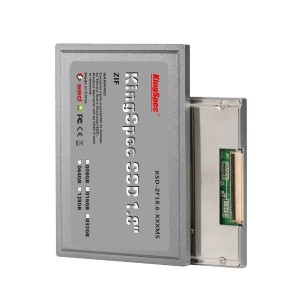 KingSpec 1.8インチ 64GB ZIF CE(IDE 40pin) MLC Solid State Drive