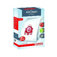 Miele AirClean 3D Efficiency Dust Bag, Type FJM, 4 Bags & 2 Filters [並行輸入品]