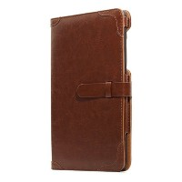Bluevision ネクサス7ケース Impress for Nexus 7 (2013) Folio Case Umber Brown ブラウン BV-IMP-N7-UBR