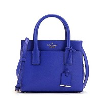 (ケイト スペード) kate spade ELBOW HOLD W/ ADJUSTABLE CROSSBODY STRAP ハンドバッグ #PXRU6669 443 NIGHTLIFE BLUE ...