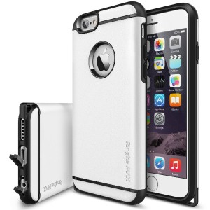 iPhone6Plus Case - Rearth Ringke MAX iPhone6 Plus ハイブリッドCase液晶保護フィルム付き-White ホワイト