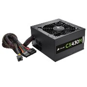 Corsair CX430M 80PLUS BRONZE 430W PC 電源ユニット PS555 CP-9020058-JP