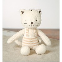 [JISAM TRADE]Organic Stuffed Animals plush toy for Babies Rag Doll 100% Cotton Baby Cat Coco & Free...