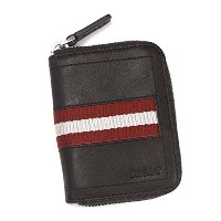 【BALLY】バリー コインケース COIN PURSE [TEBIOT-271/CHOCOLATE RED WHITE] [並行輸入品]