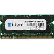 iRam Technology DDR2 PC2-5300 200pin 1GB SO-DIMM IR1GSO667D2