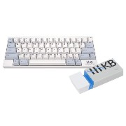 Happy Hacking Keyboard Professional2 Type-S 白(英語配列)EneBRICK セット KB400WS-EB01AH
