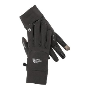 The North Face Etip Gloves. iPhone 5 & iPad mini. Grey. Size S 17579