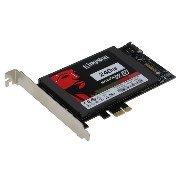 SEDNA - PCI Express (PCIe) SATA III (6G) SSD Adapter with 1 SATA III port, No power connection...