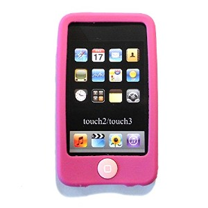 Msfort iPod Touch 2/3 【第2世代/第3世代】シリコンケース iPod Touch 2/3 Silicone Case (ピンク)