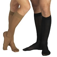18-21 mmHg MEDICAL Compression Socks with CLOSED Toe, MODERATE Grade Class I, Knee High Support Stockings with Toecap (M (Body height 62.2-66.9 inch)...
