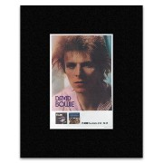 DAVID BOWIE - Hunky Dora 1972 Matted Mini Poster - 30.8x20.8cm