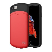 Match nine MATCH 4 CAPSULE CARD for iPhone6/6S PLUS Metalic Red メタリックレッド MCIP6S127
