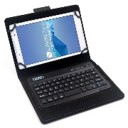 F.G.S ACER Iconia One 8 B1-850 キーボードケース 7/8インチ 汎用 タブレットキーボード カバー付き マルチOS対応 [JP配列/US配列両方対応] 超薄型...