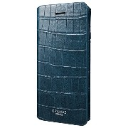 "GRAMAS COLORS ""EURO Passione 3"" Leather Case for iPhone 7/7 Plus (iPhone 7, Navy) GRAMAS COLORS..."