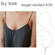 【byboe バイボー】ダガーネックレス ペンダント dagger necklace #245 正規品