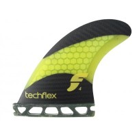 FUTURE FIN RTM TECH FLEX F4 フューチャーフィン 3本セットキー付 yellow carbon