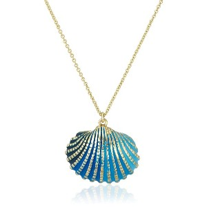 [チビジュエルズ] chibi jewels Ombre Cockle Shell Necklace chibi N207(blue)