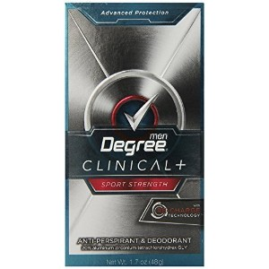 Degree Clinical Protection Anti-Perspirant & Deodorant, Sport Strength 1.7 oz,(pack of 4) by Degree...