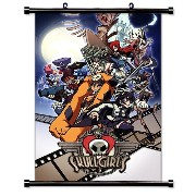 SkullGirls Group CWS Game Wall Scroll Poster (16 x 22 Inches) by Custom Wall Scrolls, Inc. [並行輸入品]