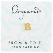 [ドギャード] DOGEARED from a to z earring, GD, little B V3GGZ00210104