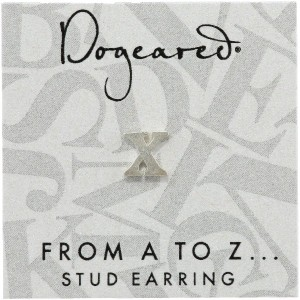 [ドギャード] DOGEARED from a to z earring, SS, little X V3SSZ00212304