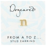 [ドギャード] DOGEARED from a to z earring, GD, little N V3GGZ00211304
