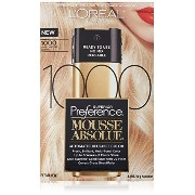 L'Oreal Paris Superior Preference Mousse Absolue, 1000 Pure Lightest Blonde by L'Oreal Paris Hair...