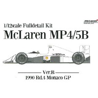 Mc Laren MP4/5B:Ver.B:Rd.4 Monaco GP