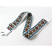 souldier Ace Replica straps Stained Glass Blue/WH ギターストラップ