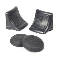 Kabalo Triggers AND Thumb Grips - Non Slip, for Playstation 3 PS3 Controller