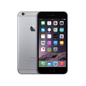 Apple au iPhone6 A1586 (MG4F2J/A) 64GB スペースグレイ