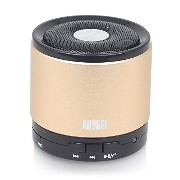 August Bluetooth wireless ワイヤレス無線スピーカー MS425 (gold)
