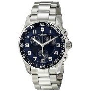 (ビクトリノックス) VICTORINOX Swiss Army スイスアーミー Men's 241497 Chrono Classic Analog-Display Swiss Quartz...