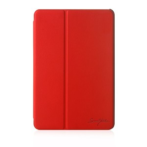 Red-TrideaーiPad Mini Retina、 2 Ways Standing Folder Case、 iPad mini Retinaディスプレイモデル専用高級ケース...