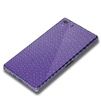 iJacket Xperia Z1 SO-01F用 背面保護フィルム デザイン グラフチェック PG-SO01F11HD PG-SO01F11HD