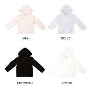 Barefoot Dreams CozyChic Toddler Hoodie 513 (4T-5T, ESPRESSO) [並行輸入品]