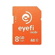 Eye-Fi Mobi 8GB SDHC Card Wi-Fi - mobi-8