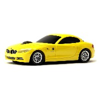 LUMENxTIMELY [ BMW 公式製品 Z4 35is ] ワイアレスマウス [ YELLOW ] LXT-BM-Z435IS-YE