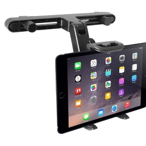 Macally 【車載用ヘッドレストマウント 8インチタブレット用】 HRMOUNT, Car Seat Headrest Mount for all iPad & tablet PCs up to...